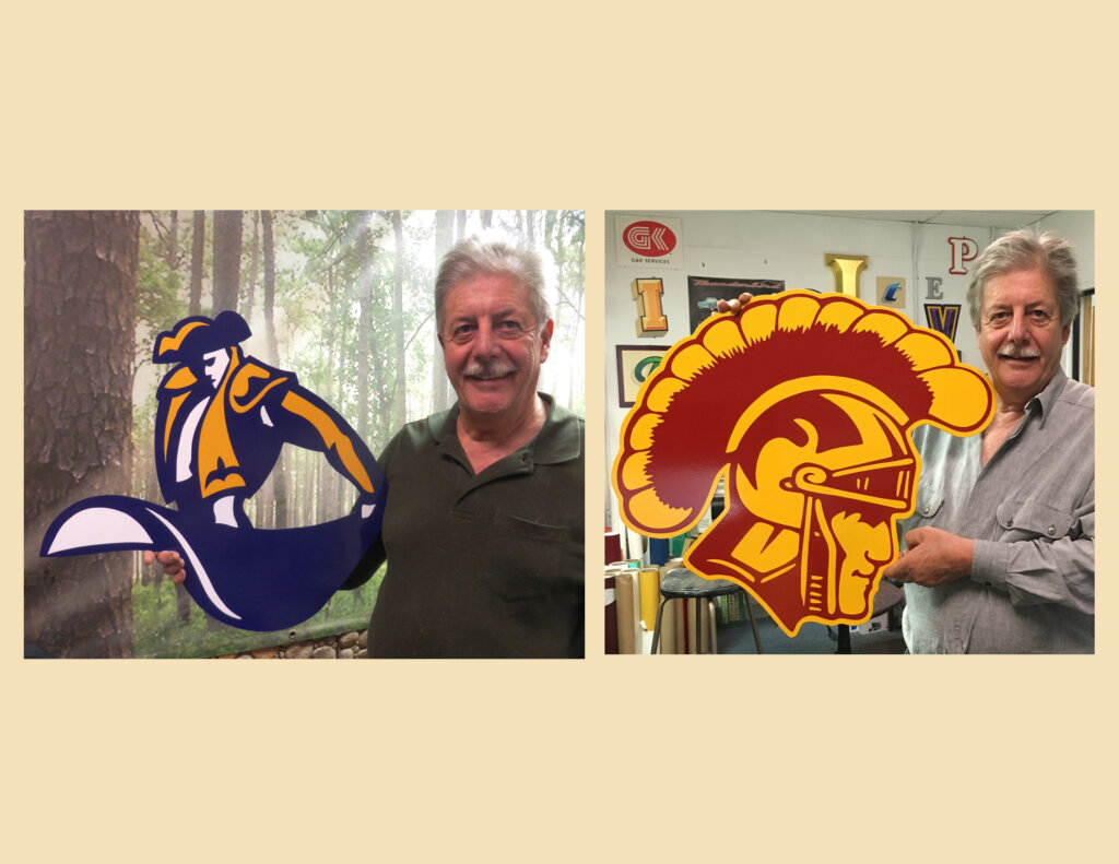 Campbell school signs mascots california