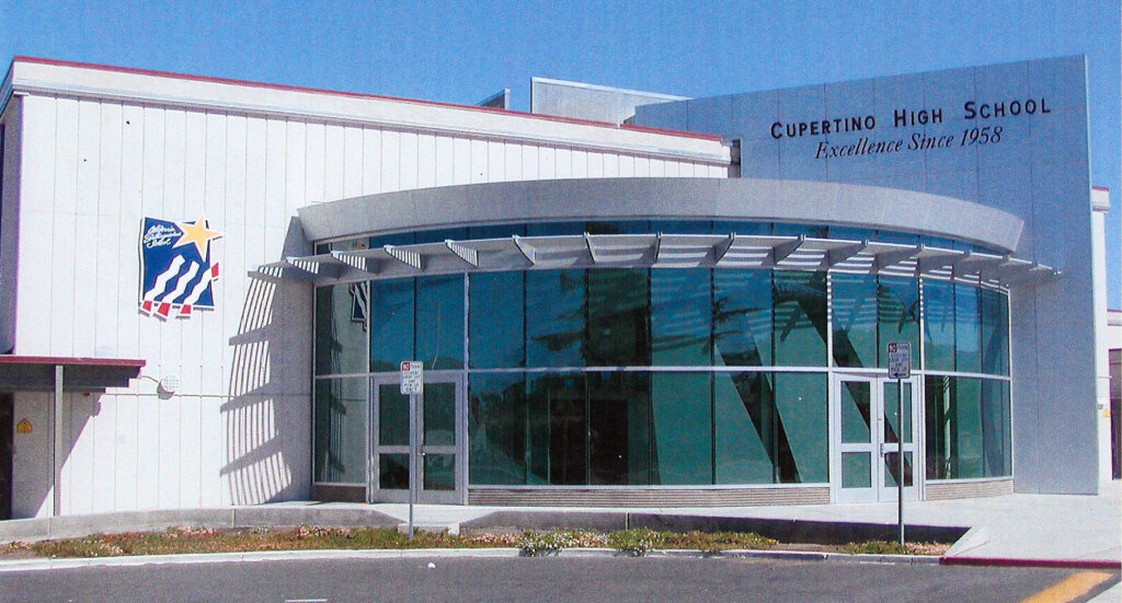 Cupertino school signs high award california custom