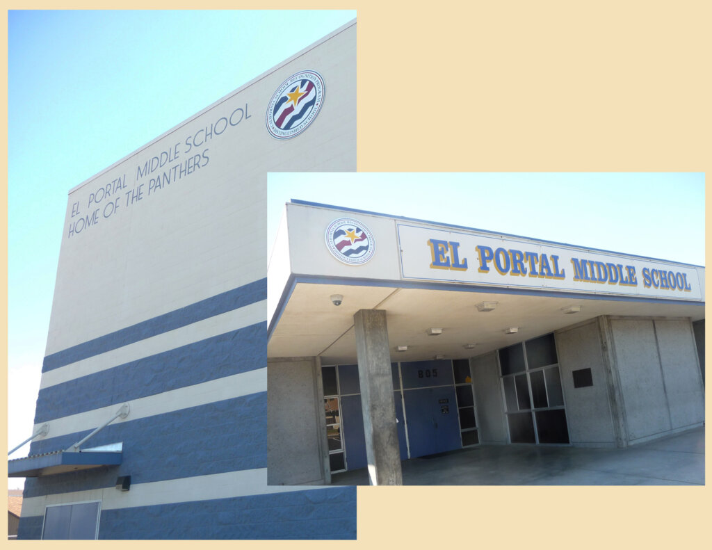 Escalon school signs el portal award middle