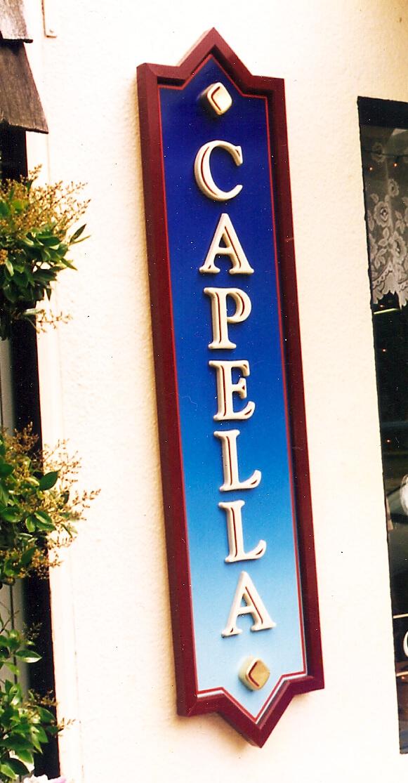 Los Gatos custom signs capella