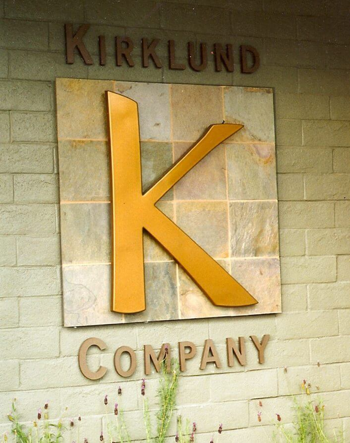 Los Gatos dimensional letters sign kirklund company