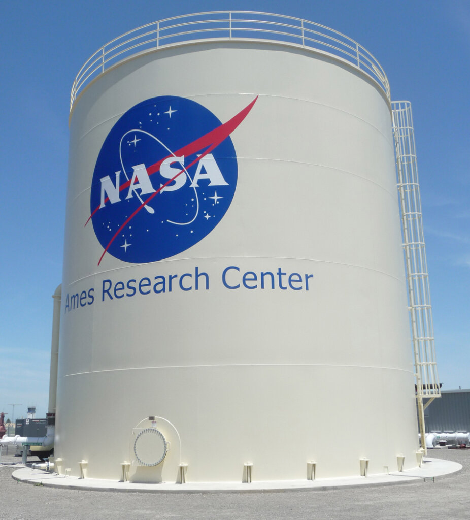 Mountain View hand painted signs nasa ames research center