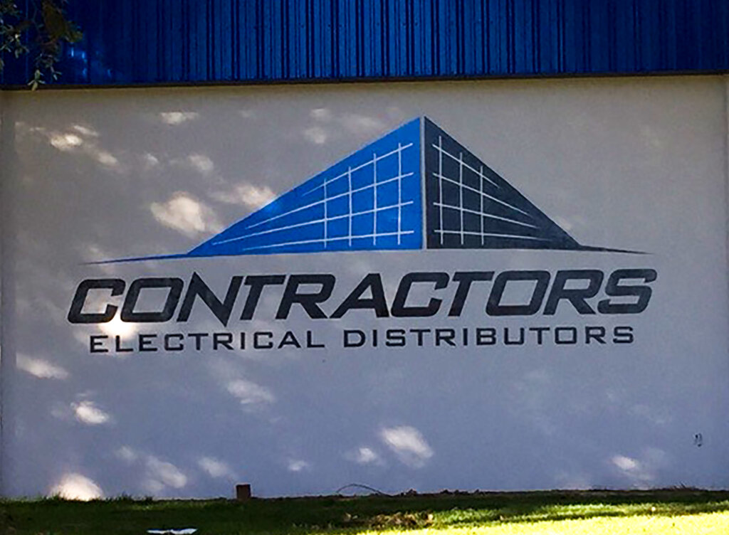 Sacramento custom signs contractors electrical distributors side wall