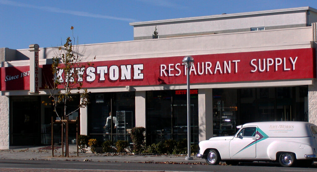 San Jose hand painted signs keystone restaurant supply