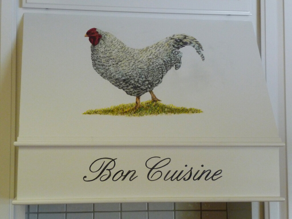 San Jose home signs bon cuisine
