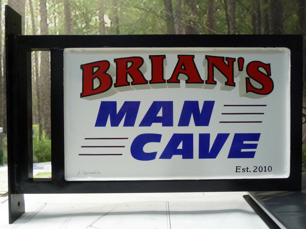 San Jose home signs brians man cave