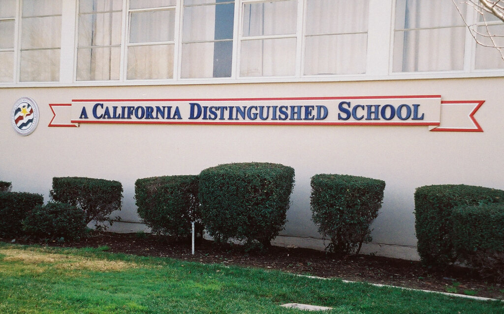 San Jose school signs Schallenberger california distinguished