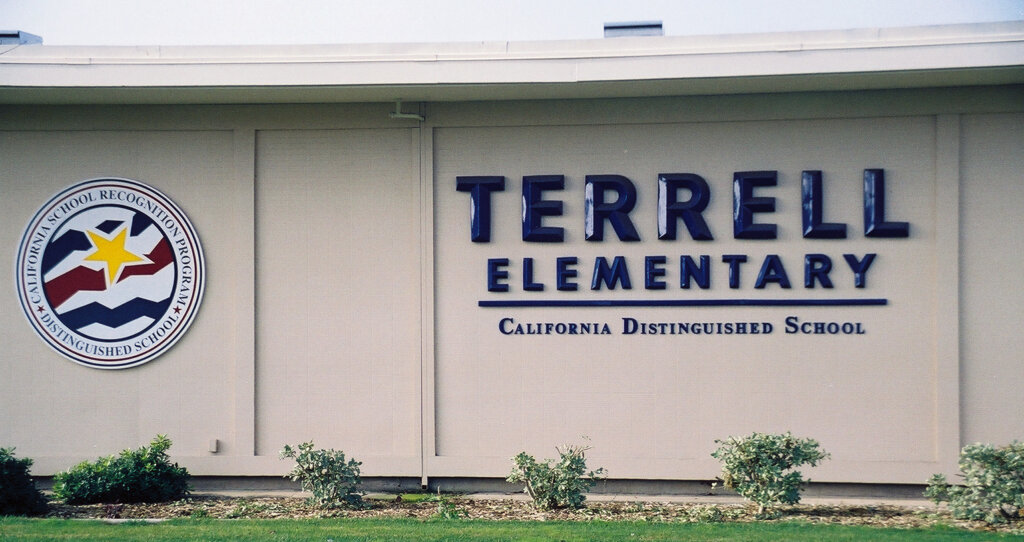 San Jose schoo lsigns terrel elementary california
