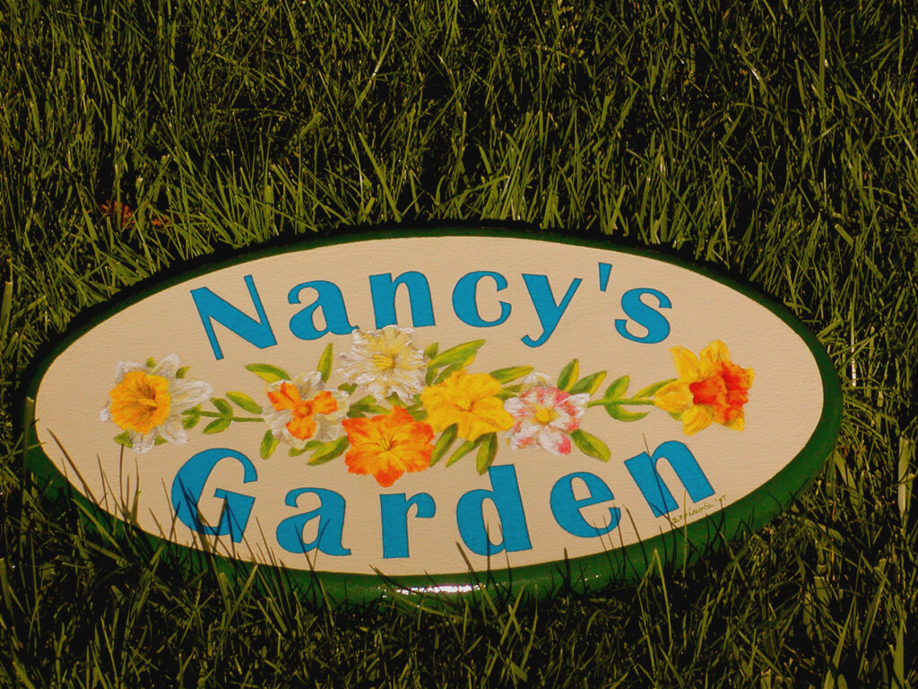 San Mateo home signs nancys garden scaled