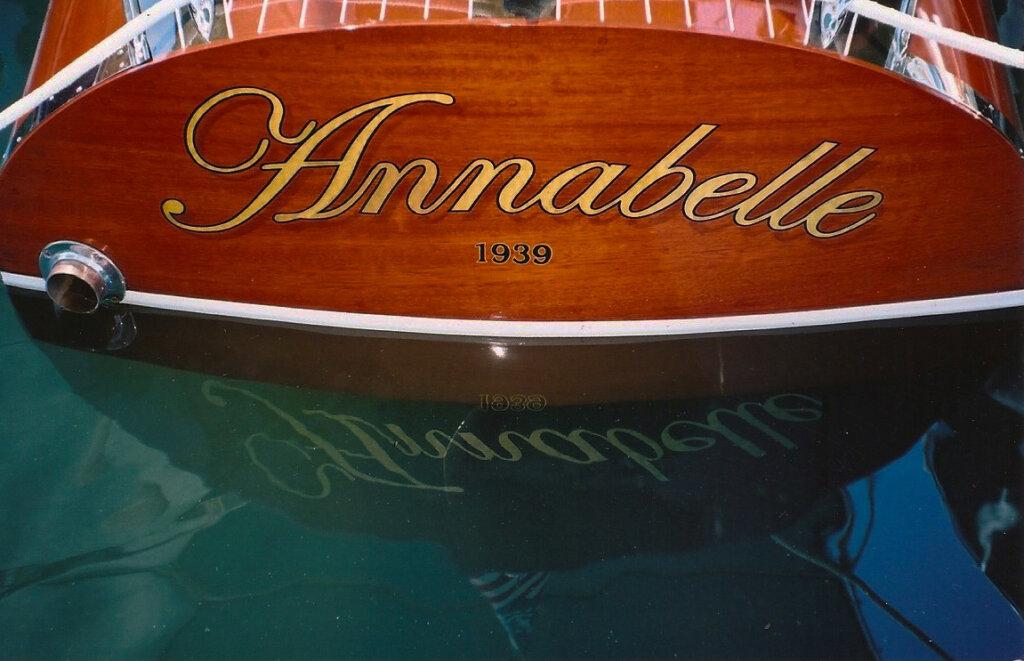 custom boat transom annabelle california