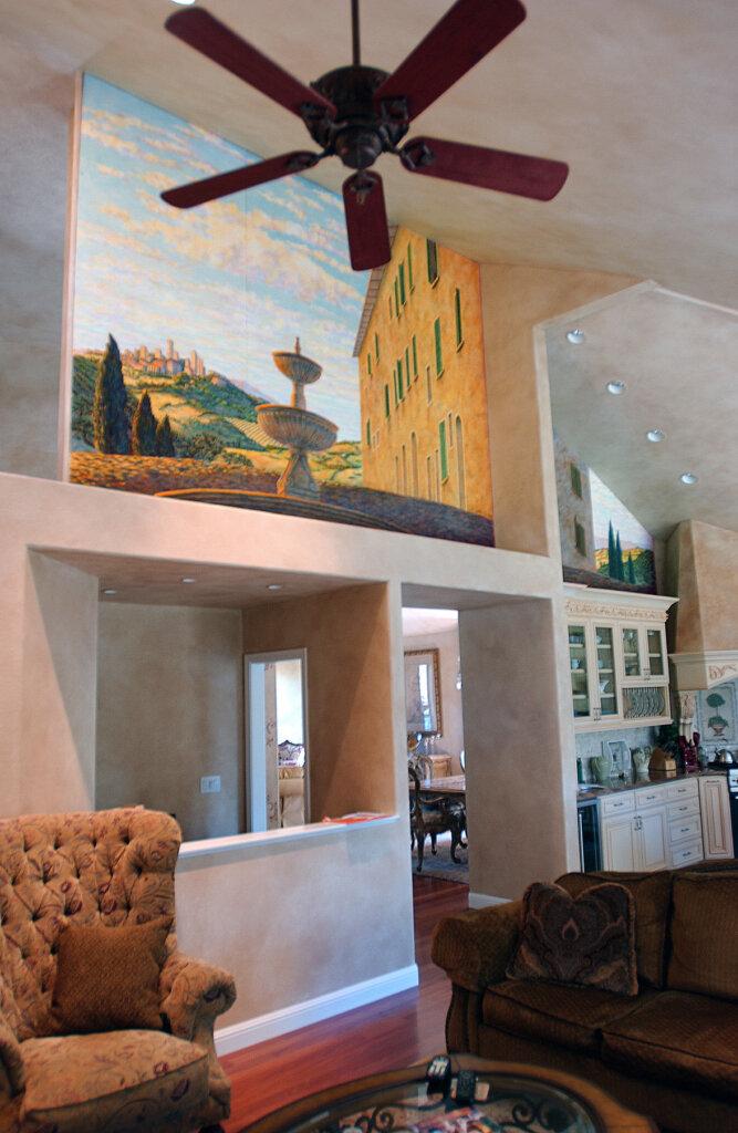custom mural Los Altos olivia california