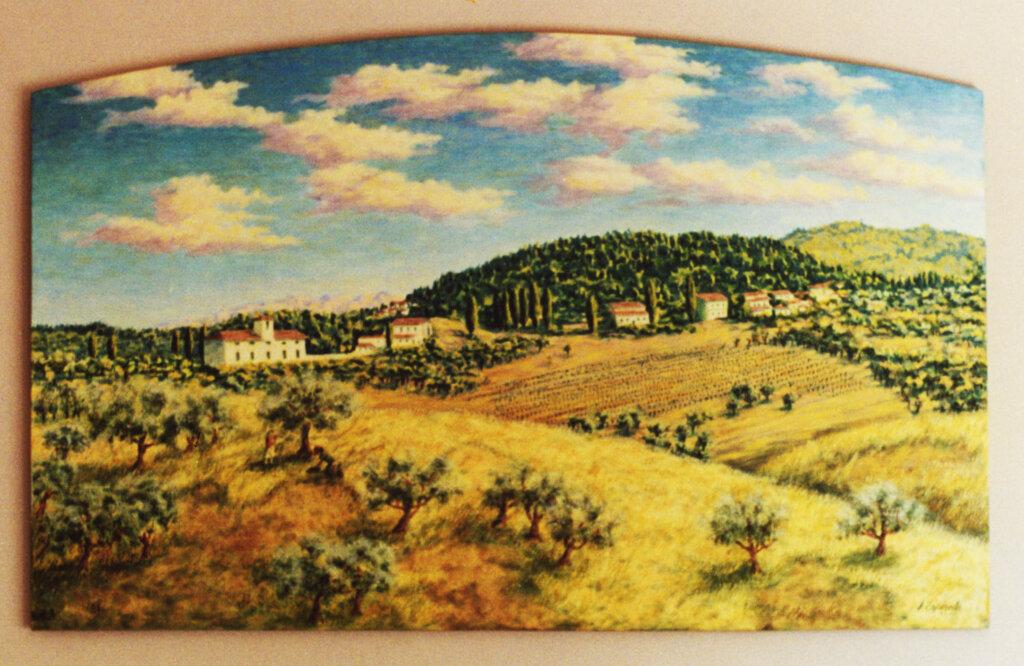 custom mural Los Altos vacation memories california