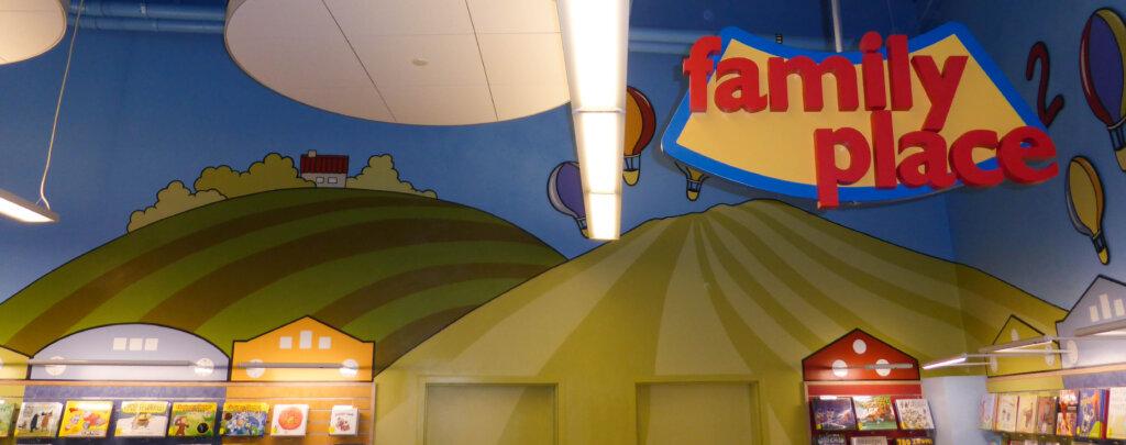 custom mural San Jose library hill