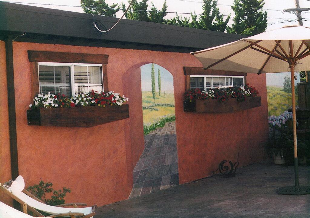 custom mural San Jose m cross california