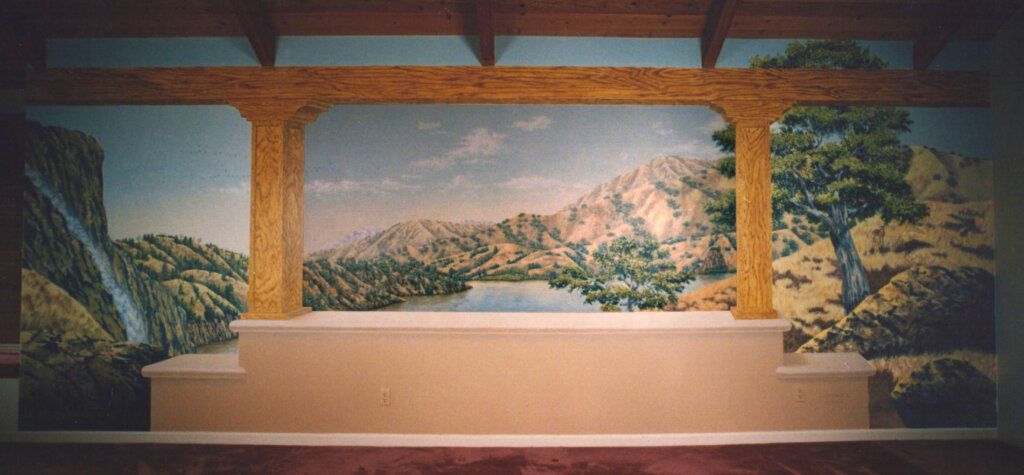 custom mural San Jose pereira