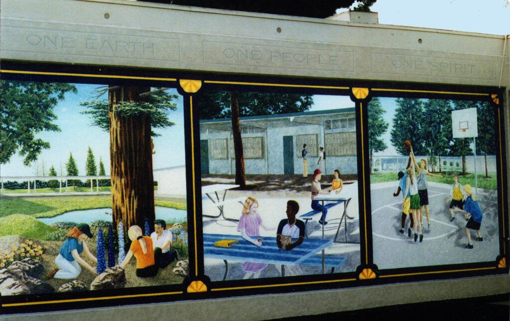 custom mural Sunnyvale peterson california