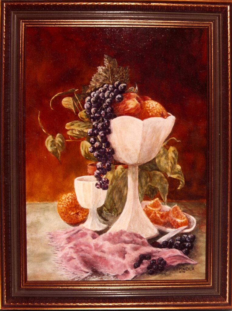 custom mural san jose company fruit painting