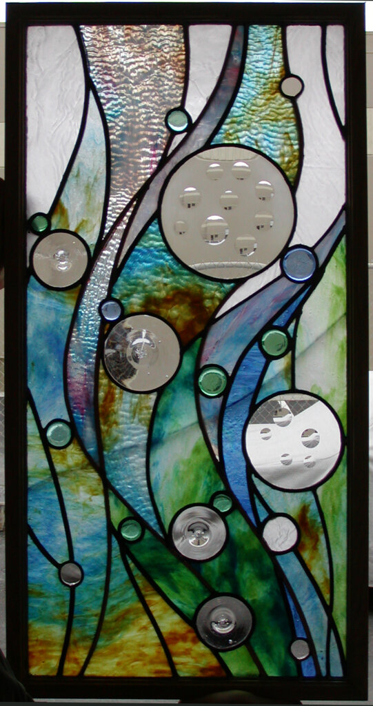 stained glass Campbell ocean sway california