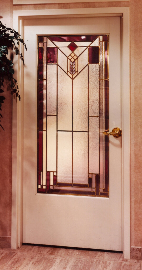 stained glass San Jose door entry dental california