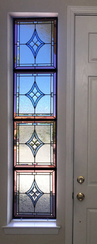 stained glass San Jose window door quattro nova final california