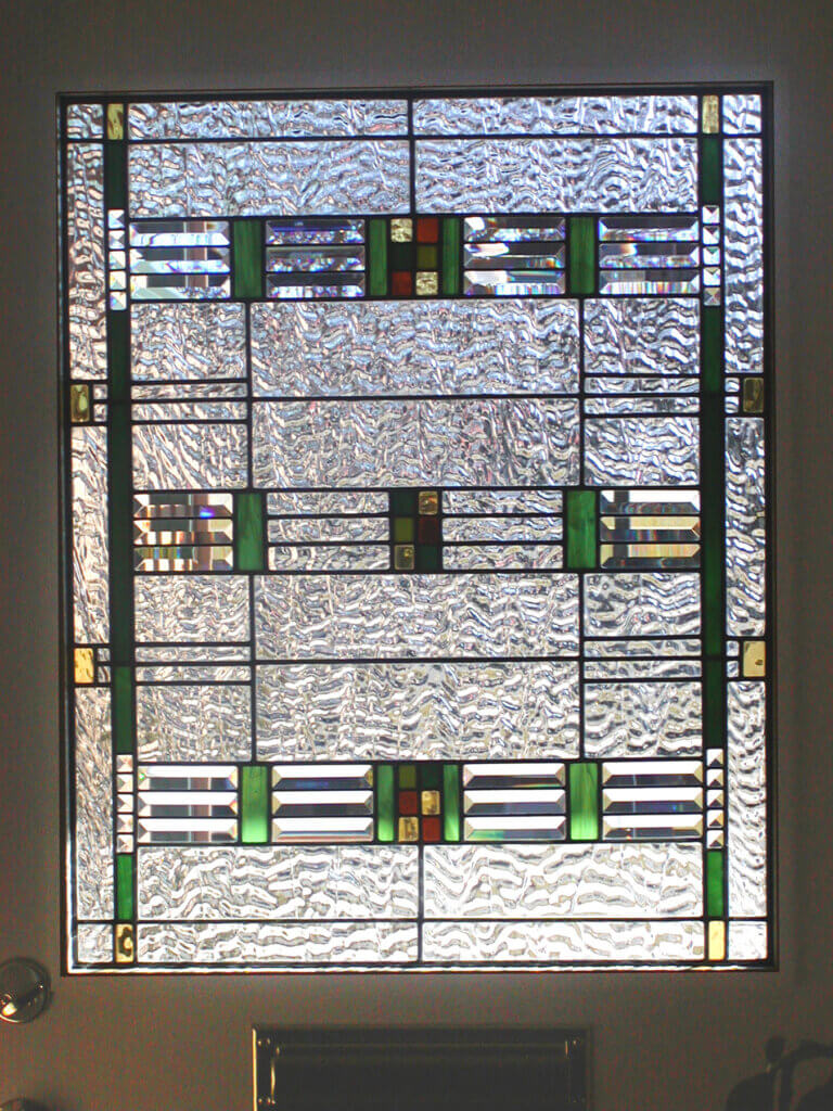 stained glass San Jose window door shimmer california