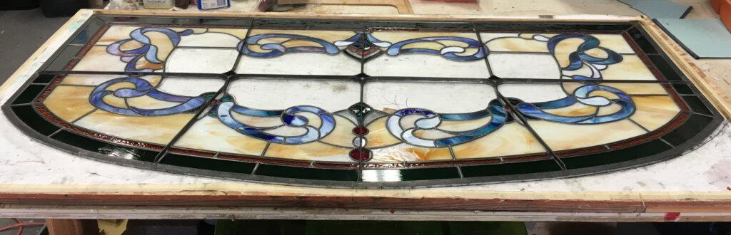 stained glass San Jose window magnuson bracing B california