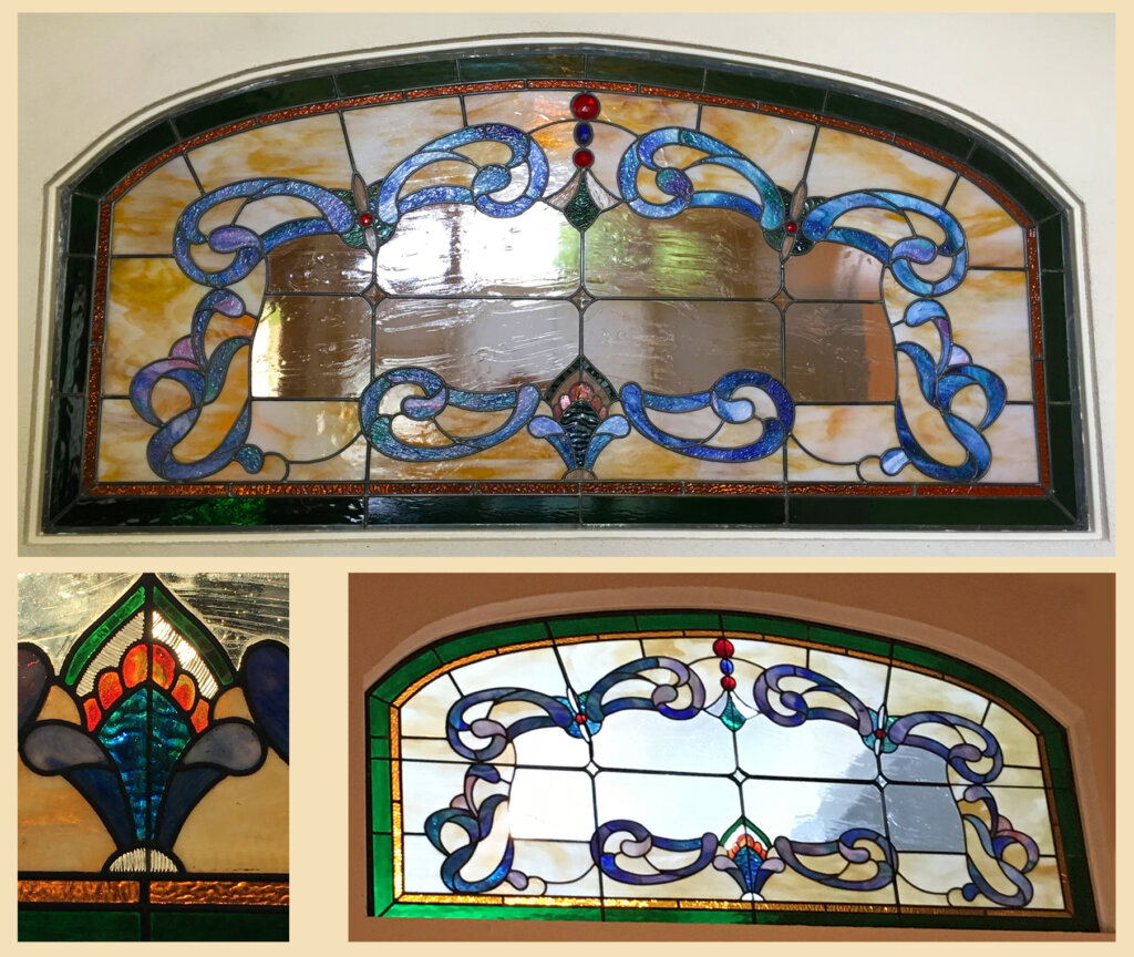 stained glass San Jose window magnuson final california