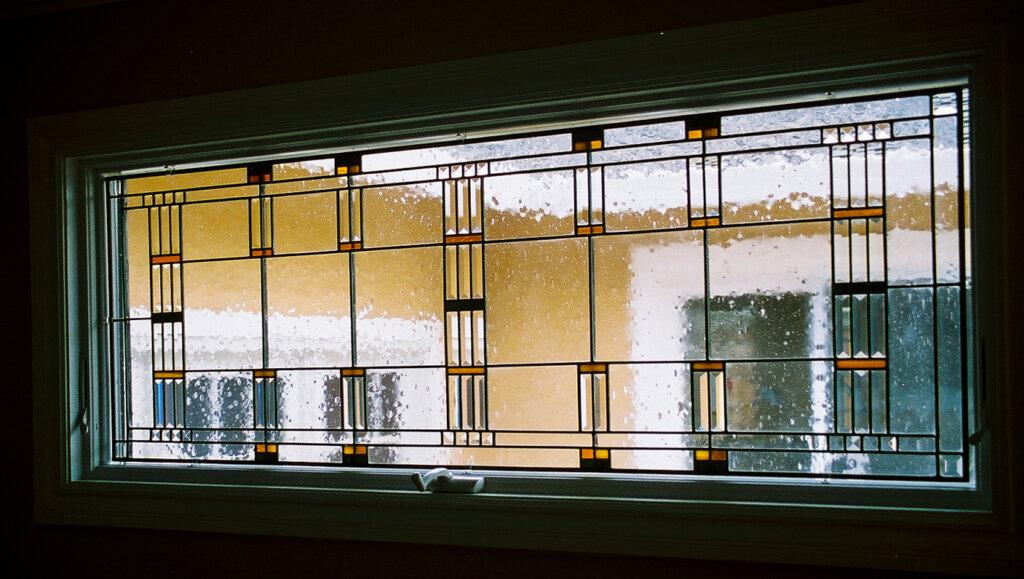 stained glass Saratoga windows wright B california