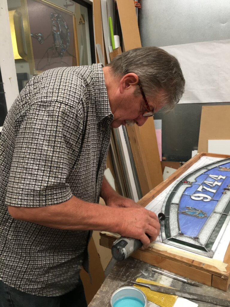 stained glass repair san jose john cutting sign company california