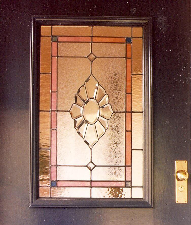 stained glass window door regency california